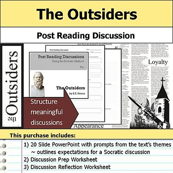 The Outsiders - Socratic Method - Post Reading Discussions