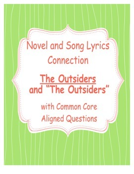 The Outsiders Song Lyric Connection