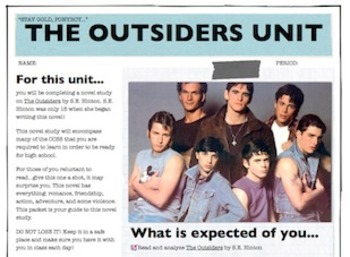 The Outsiders Student Unit Packet