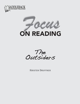 The Outsiders Study Guide: Focus on Reading