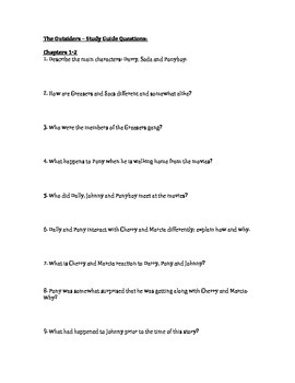 the outsiders study guide questions by kit marlowe tpt rh teacherspayteachers com the outsiders study guide answers chapter 8 the outsiders study guide answers pdf