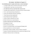 The Outsiders Study Guide and Test for Chapters 1-6