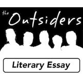 THE OUTSIDERS - Summative Task - Literary Essay