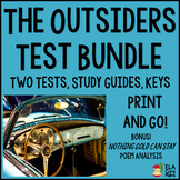 The Outsiders Test Bundle