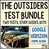 The Outsiders Test Bundle ~ Google Forms Version
