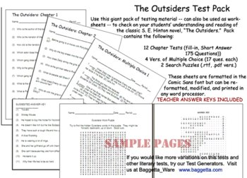 The Outsiders Test Pack