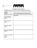 The Outsiders-Text Evidence Worksheet