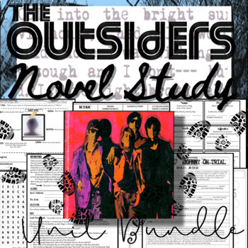 Common core the outsiders teaching resources teachers pay teachers the outsiders novel study complete unit bundle 80 pages of activities fandeluxe Images