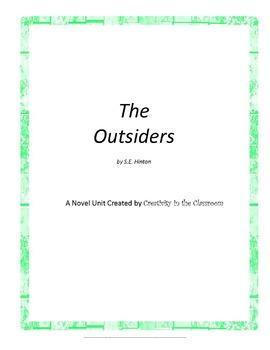 The Outsiders Unit Plus Grammar
