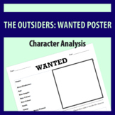 The Outsiders: Wanted Poster (Character Traits)
