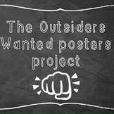 The Outsiders Wanted Poster assignment