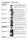 The Outsiders  - Who's Who in the film and the novel?
