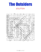 The Outsiders Word Search Puzzle