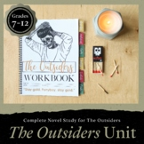 The Outsiders Workbook: Novel Unit (Distance Learning + Digital Included)