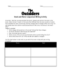 The Outsiders Writing Assignments Bundle