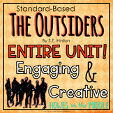 The Outsiders by S.E. Hinton - Novel Study - Bundled Materials!