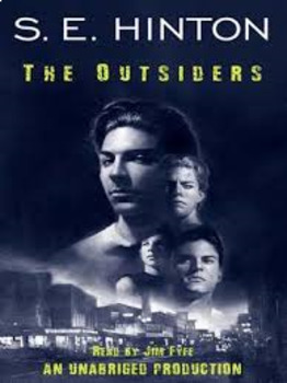 Outsiders by SE Hinton Activity Packet