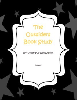 """""""The Outsiders"""" by S.E. Hinton Book Study"""