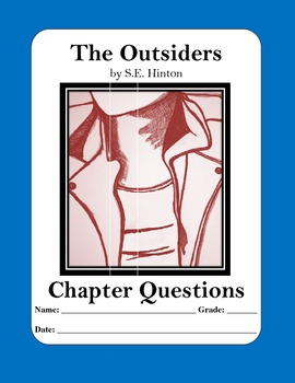 the outsiders by s e hinton chapter questions answer keys tpt the outsiders by s e hinton chapter questions answer keys
