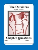 The Outsiders by S.E. Hinton Chapter Questions with Answer Keys