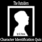 The Outsiders by S.E. Hinton - Character Identification Quiz