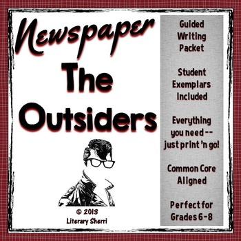OUTSIDERS   S.E. Hinton   Outsiders Newspaper   Outsiders Activities