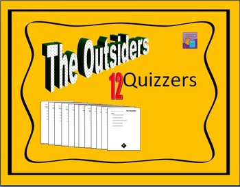 The Outsiders by SE Hinton Quiz / Quizzes