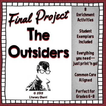 OUTSIDERS | Outsiders Novel Unit | S.E. Hinton | Outsiders BUNDLE