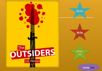 The Outsiders by SE Hinton novel study