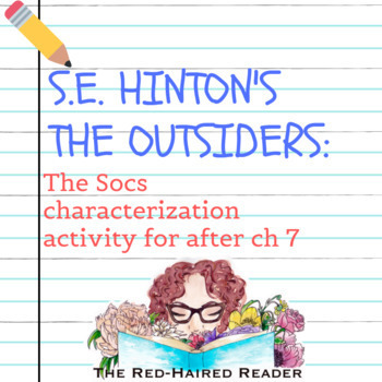 The Outsiders Chapter 7 Worksheets Teaching Resources TpT
