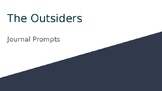 The Outsiders (novel) Journal Prompts