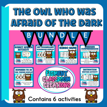 The Owl Who Was Afraid Of The Dark Bundle