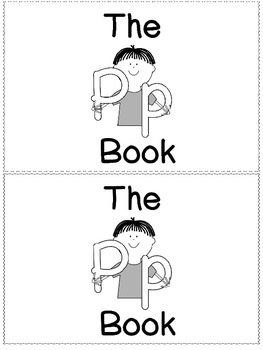 The P Book - Little Sight Word Reader