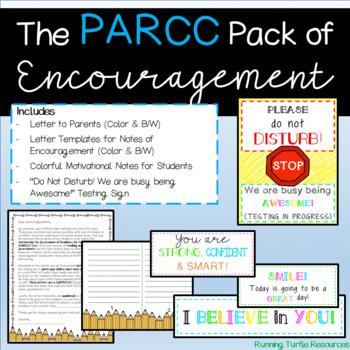 PARCC Testing Encouragement