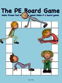 The PE Board Game  (K-8)