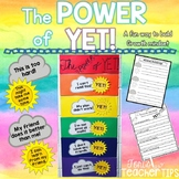 The POWER of YET {Growth Mindset}