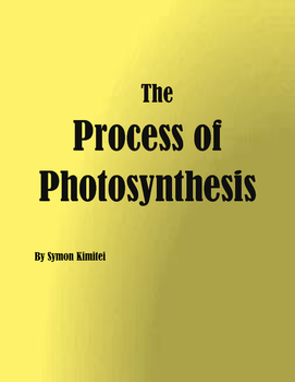 The PROCESS OF PHOTOSYNTHESIS IN PLANTS