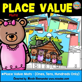 Place Value Mats - {Ones, Tens, Hundreds Only}