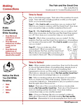 The Pain and the Great One Lesson Plans & Activities Package,Third Grade (CCSS)