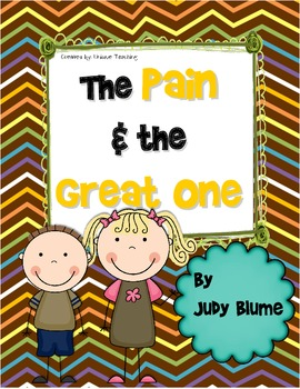 The Pain & the Great One