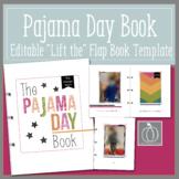 The Pajama Day Book- Editable Template