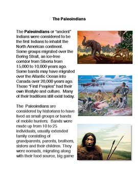 The Paleoindians