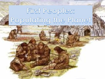 The Paleolithic Era, Early Man Populating the Earth, Human Migration