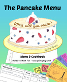 The Pancake Menu: What will you order? w/ play money packe