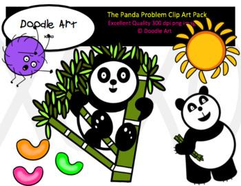 The Panda Problem Clip Art Pack