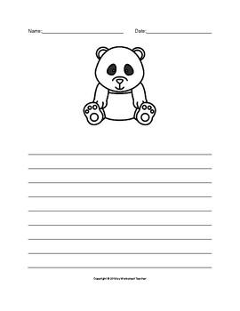 The Panda Writing Paper Set