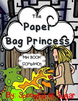 The Paper Bag Princess (A Mini Book Companion)