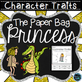 The Paper Bag Princess Character Traits | Fairy Tale Activities