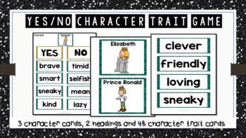 The Paper Bag Princess - Character Traits Game