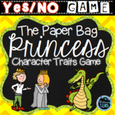 The Paper Bag Princess Character Traits Game | Fairy Tales Activity